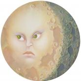 <b>Perplexité lunaire</b> - Huile sur toile - 50 X 50