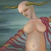<b>La mère</b> - 40 x 30