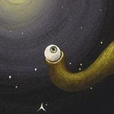 <b>L'astronome</b> - 30 x 30