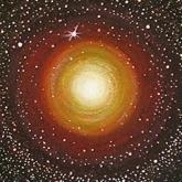 <b>Les bons démiurges ou la tournante cosmique</b> - 40 x 40