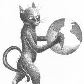 <b>Le chat</b> - Plume et encre